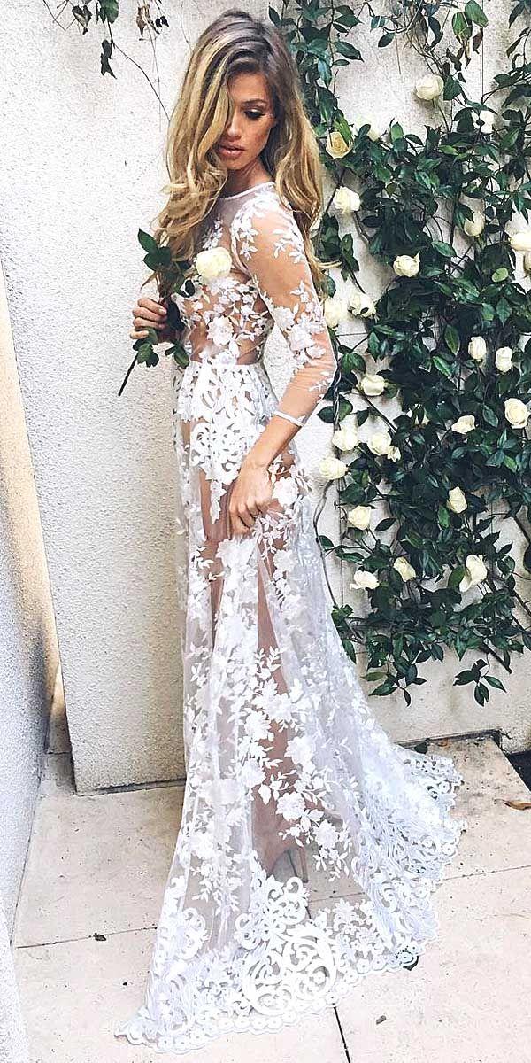 36 chic long sleeve wedding dresses wedding dress wedding and 36 chic long sleeve wedding dresses junglespirit Choice Image
