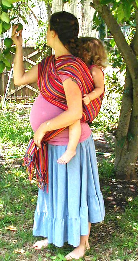 Pregnant Wrapping and other ways to use your wrap in pregnancy, during labor and birth, and for post partum recovery