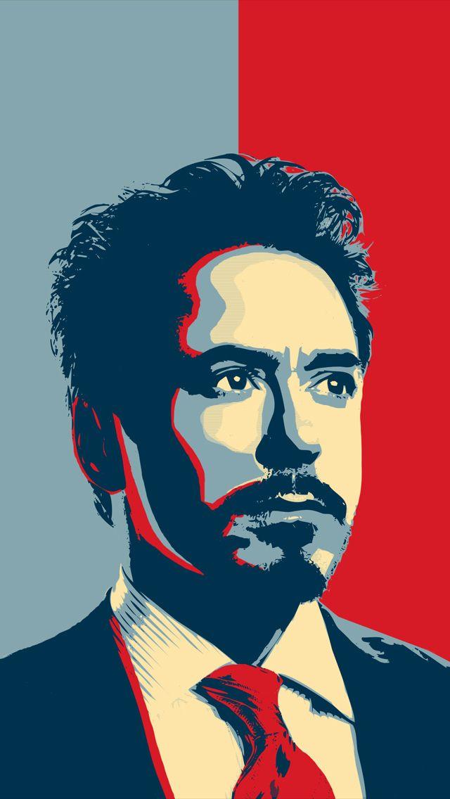 Iphone 5 Wallpaper Hero Poster Robert Downey Jr Iron Man Iron