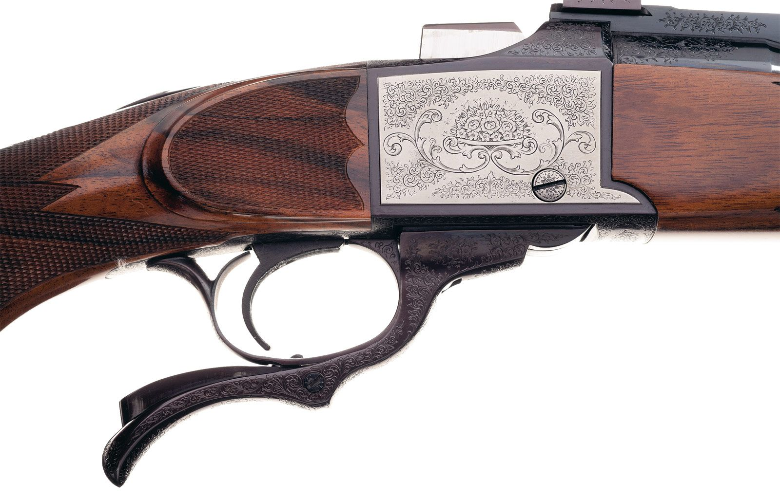 Custom Paul Jeager Engraved Ruger No. 1 Single Shot Rifle ...