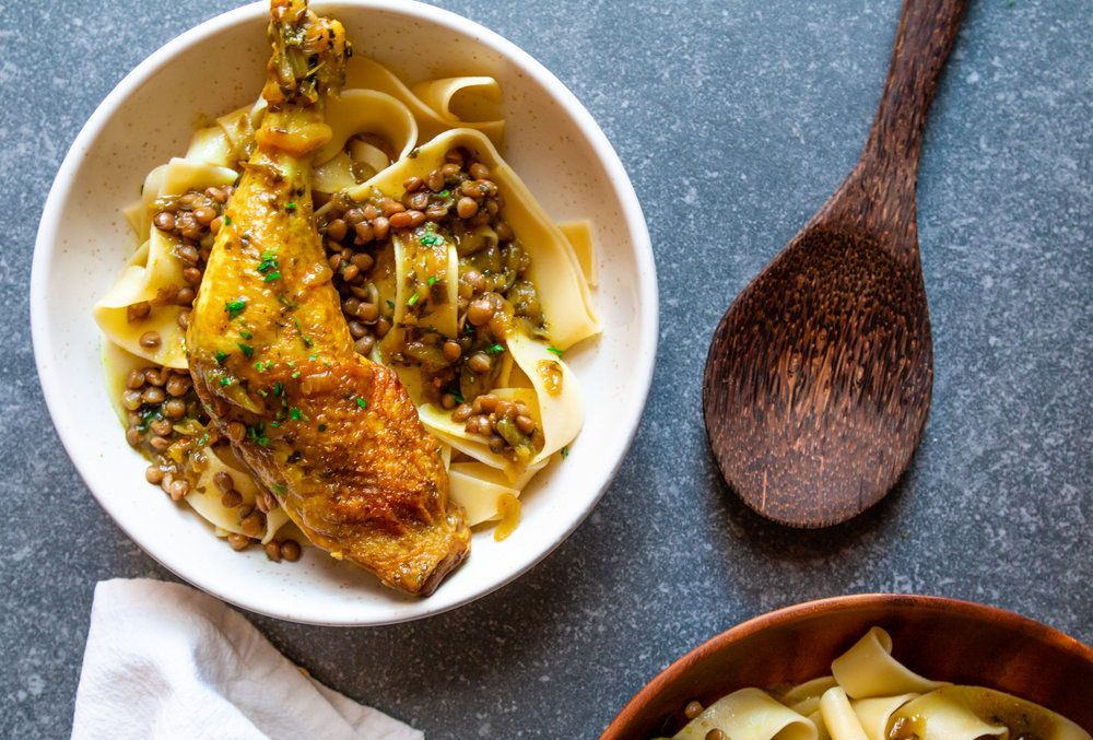 Rfissa Express – Fragrant chicken and lentils with ...
