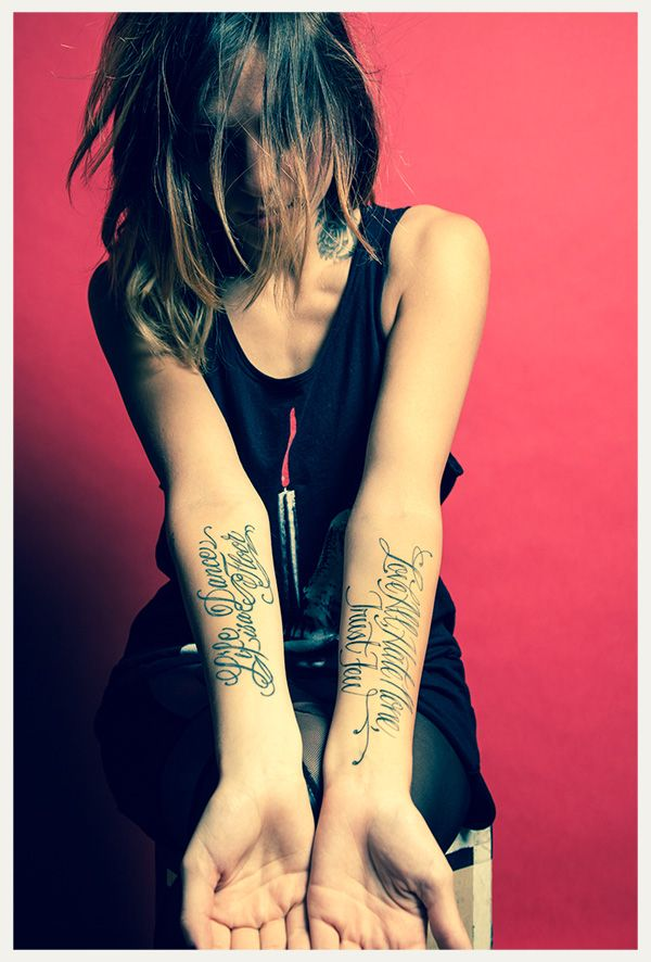 """Tatuajes Musica Electronica jahan's tattoo """"life is a dancefloor."""" check out link to see other"""