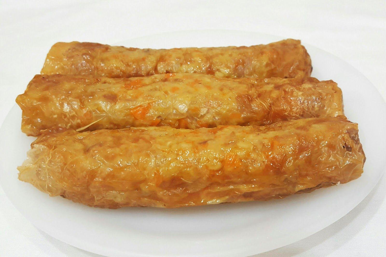 Minced Pork Rolls (Ngoh Hiang/ Loh Bak) Using Airfryer