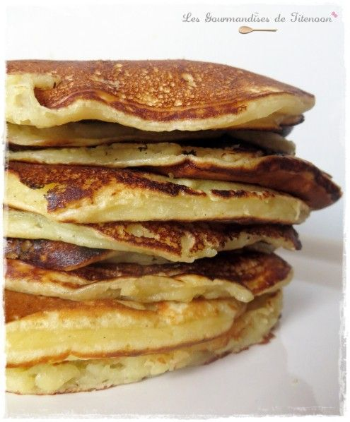 Pancakes au lait ribot (buttermilk, yorik ou lait fermenté ...
