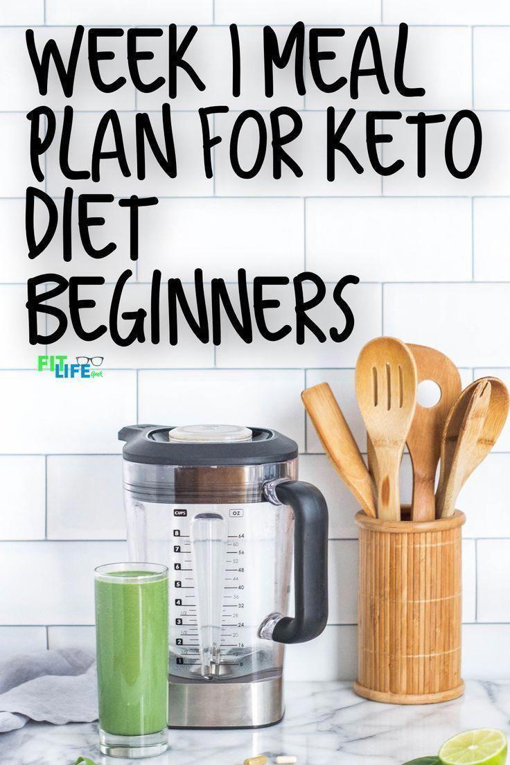 Keto Diet Meal Plan Week 1 #KetogenicDietFoodsToAvoid ...