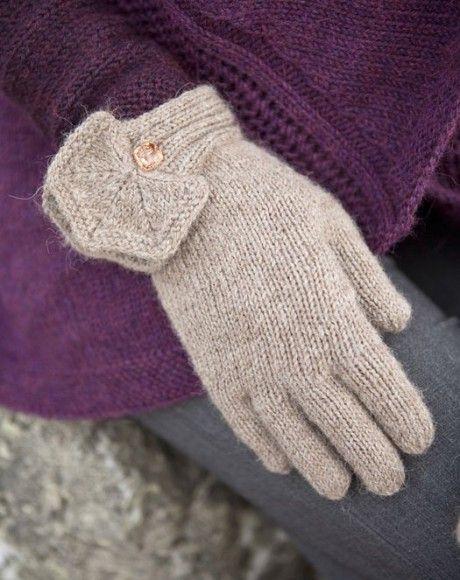 25 описаний перчаток спицами со схемами вязания, Вязание ...