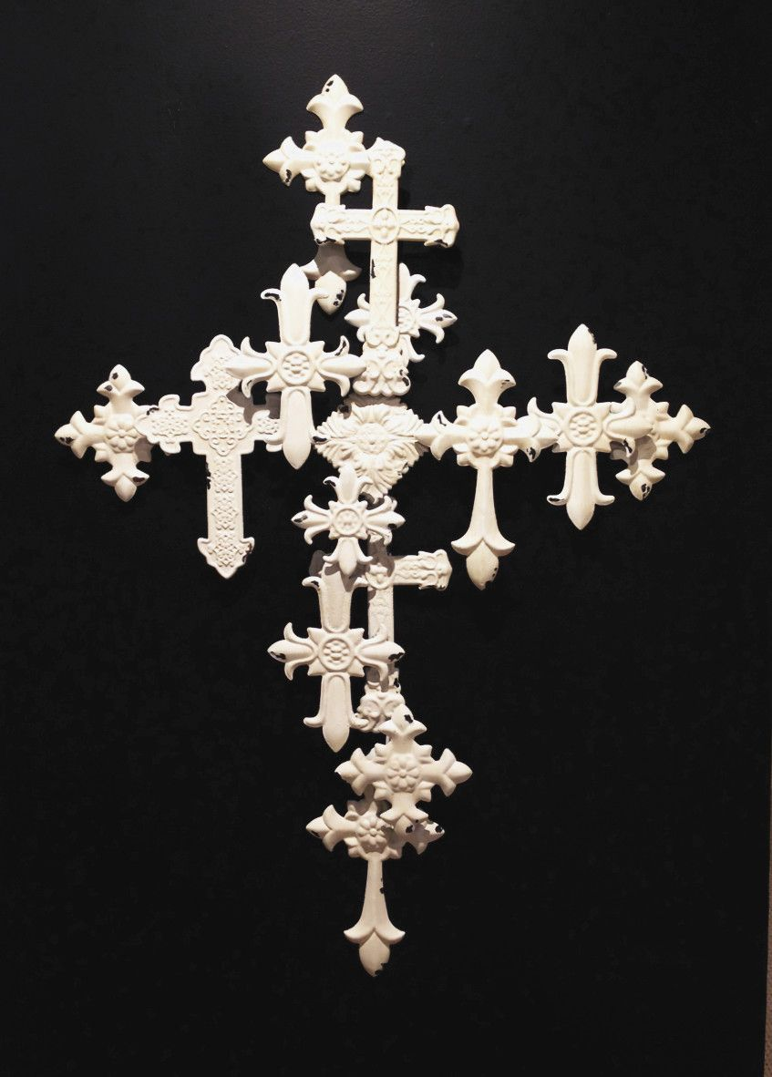 Metal Cross Collage Wall Décor | Crosses | Pinterest | Collage walls