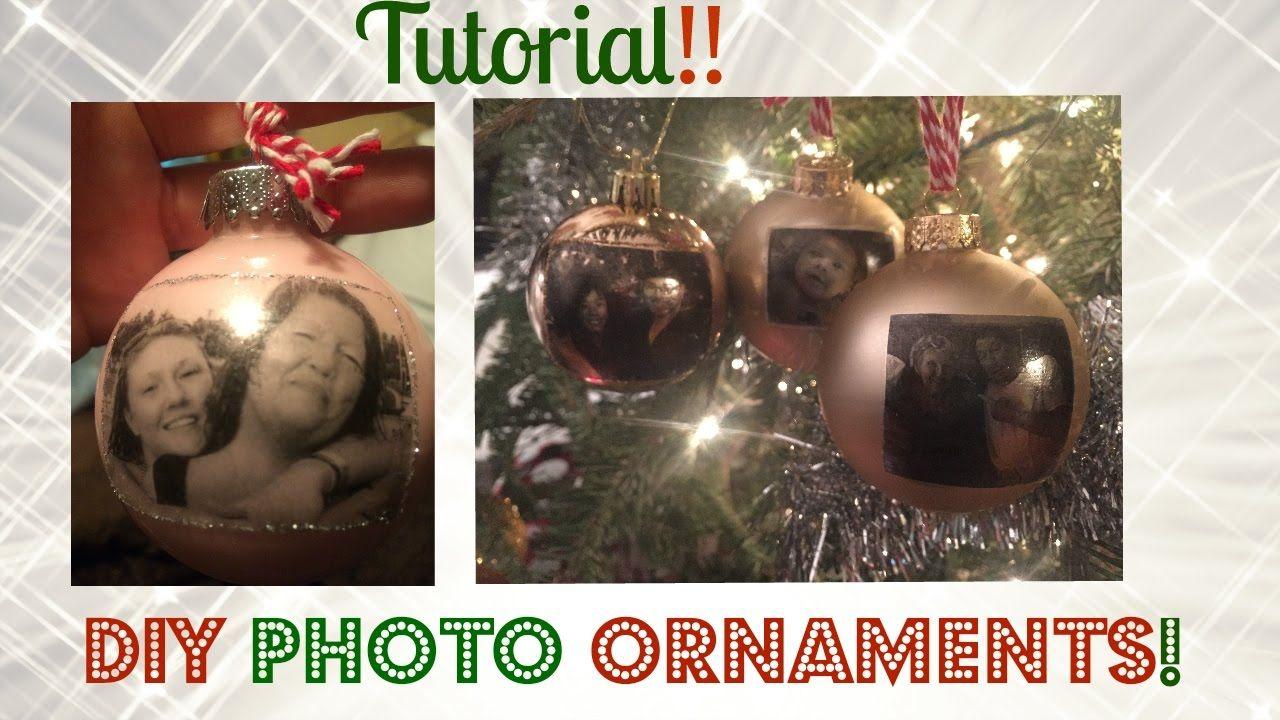 Diy photo ornament tis an ornament pinterest ornament and photos diy photo ornament solutioingenieria Choice Image
