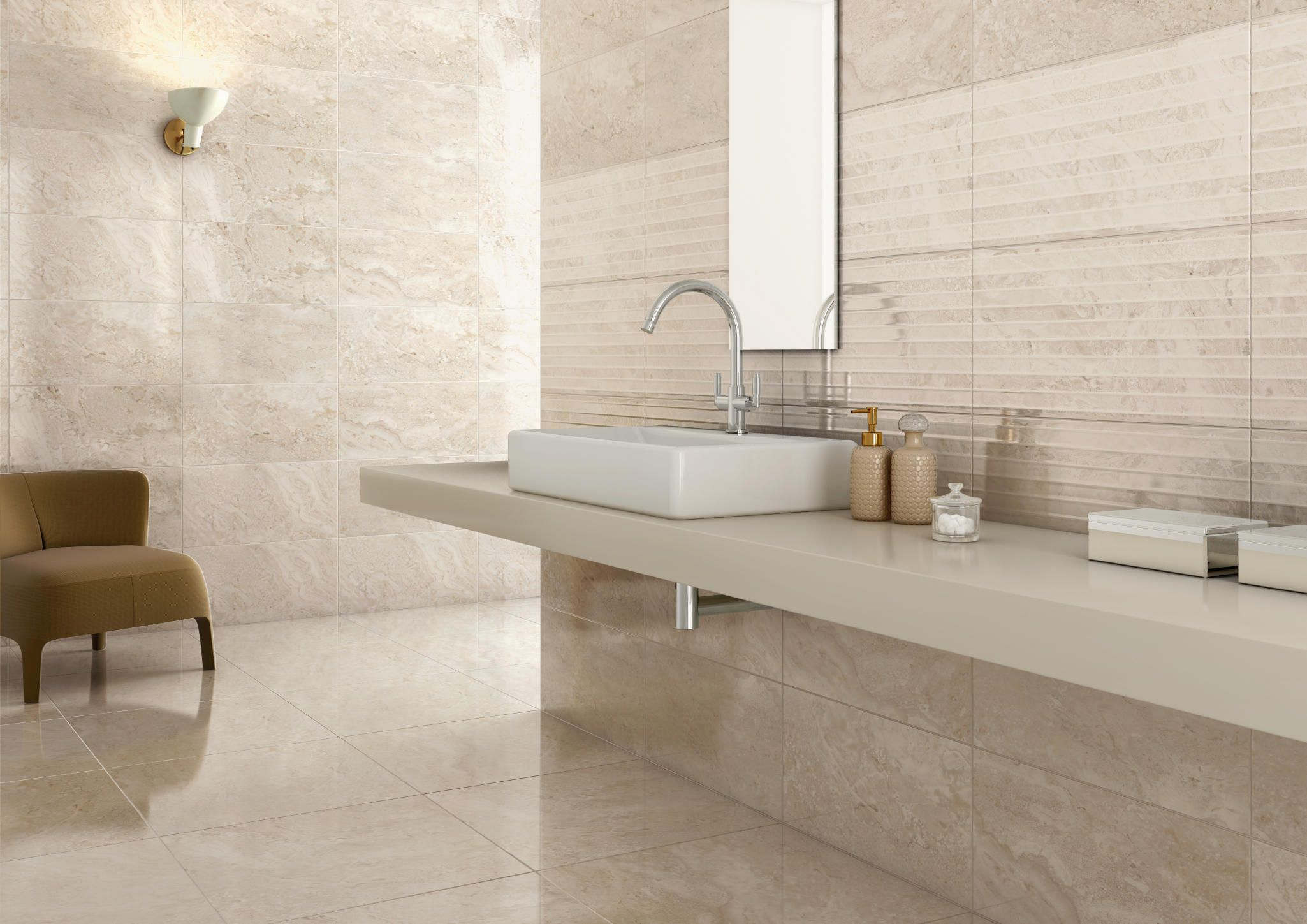 Bagno bathrooms ~ Elegant beige come and visit us let us be a part of your next