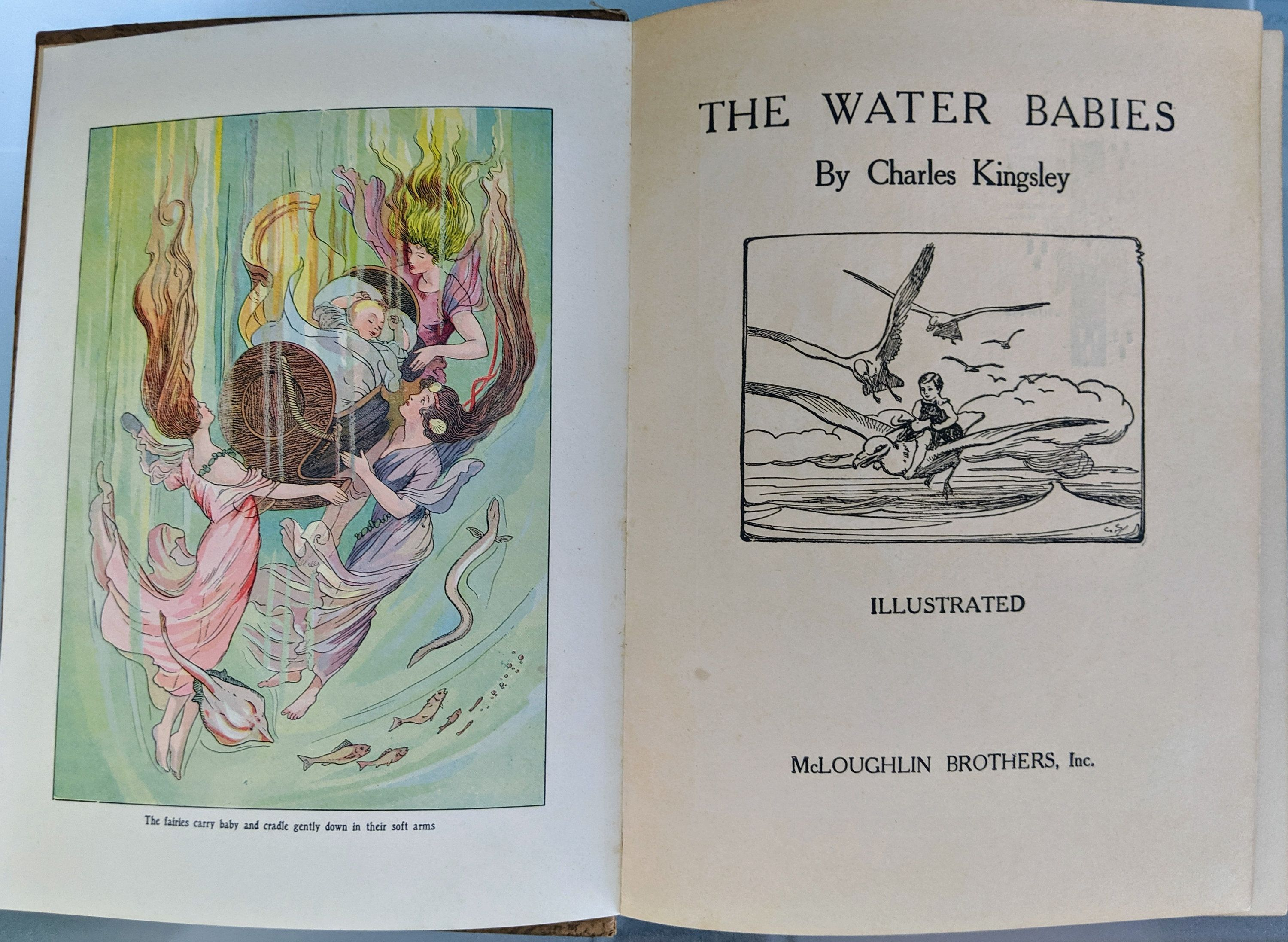 The Water Babies A Fairy Tale For A Land Baby Charles Kingsley
