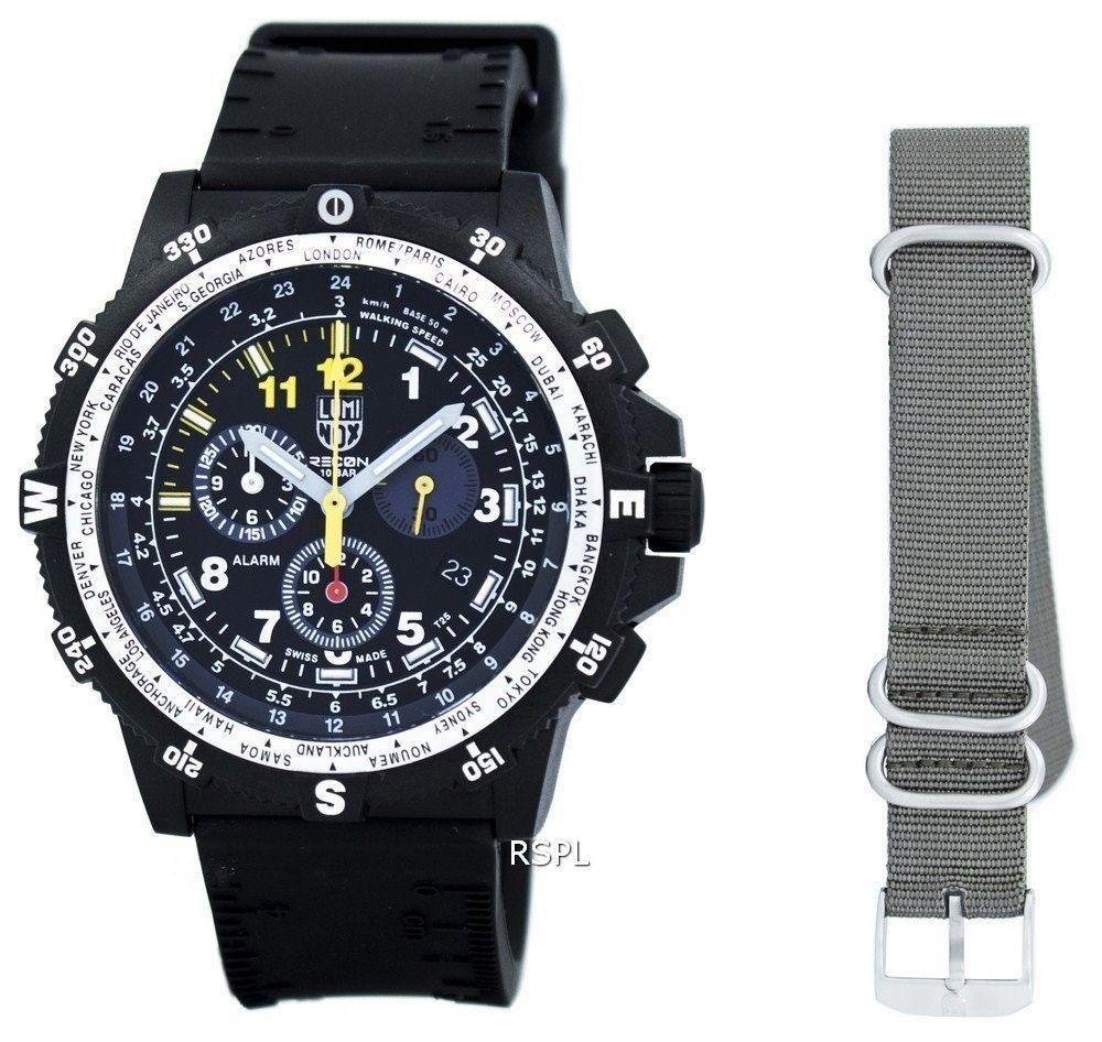 d658801f155 Luminox Recon Team Leader Chronograph 8840 Series Quartz XL.8841.KM.SET Men s  Watch