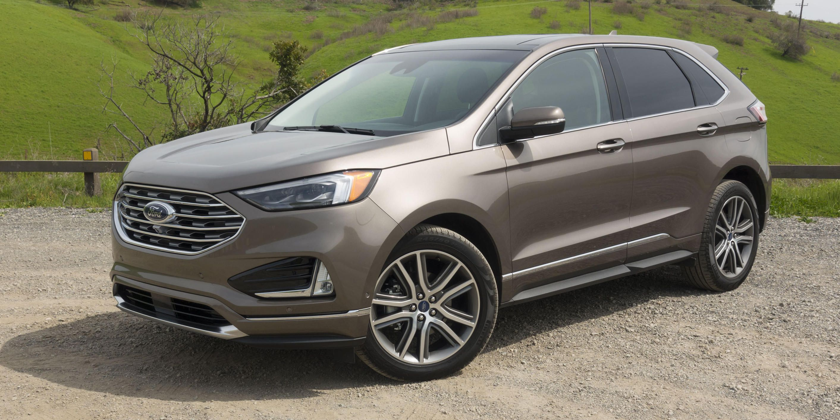 2019 Ford Edge Review Ford S Redesigned Midsize Suv Plays It Safe
