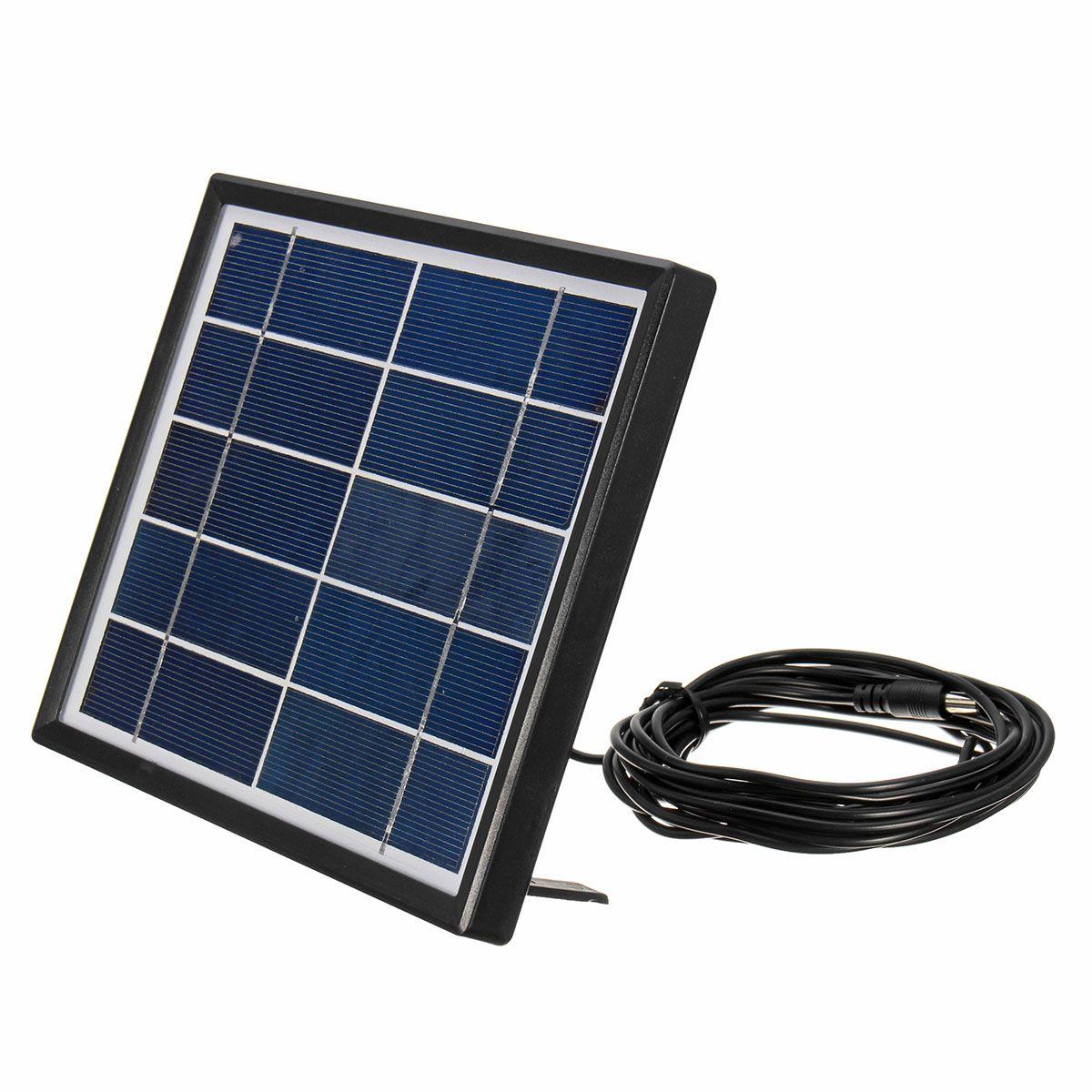 5v 3w 0 6a Rechargable Solar Panel Con Cable De 5 M Para Emergencia Al Aire Libre Solar Panels Solar Diy Kits