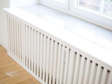 Diy anleitung heizungsverkleidung selber bauen via wohnzimmer pinterest - Fensterbank selber bauen ...