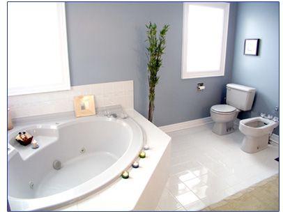 Charming Corner Tub. Bathroom ...