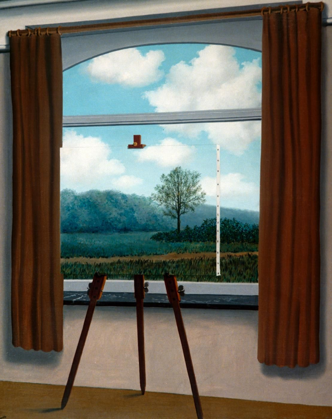 The Human Condition(1933) - Rene-Magritte