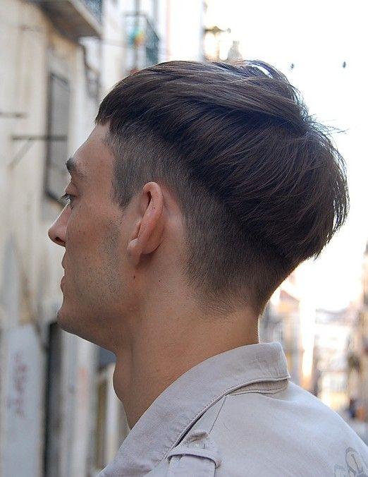 trendy haircuts for men super cool men s basin cut with trendy twist frissn pinterest. Black Bedroom Furniture Sets. Home Design Ideas