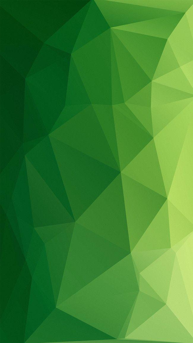Green Ultra   Clear Geometric Polygon Lattice Background