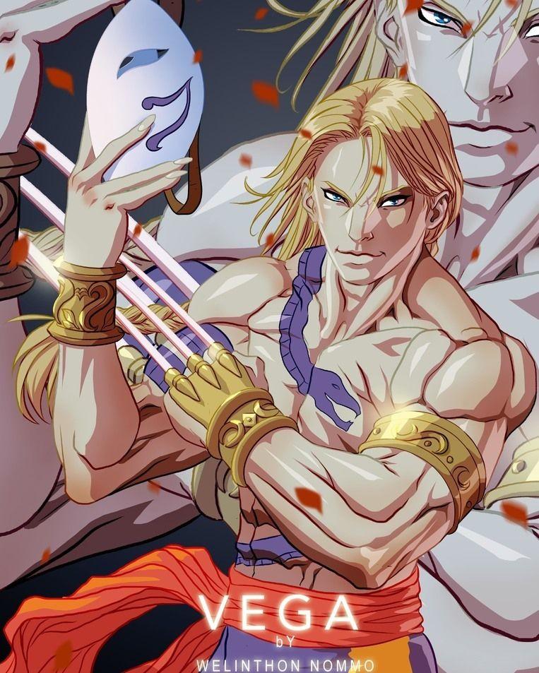 Vega From Street Fighter Video Game Fan Art Videogame