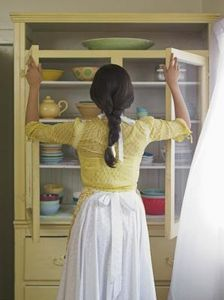 How To Get A Musty Smell Out Of Cabinets Hunker Mold Smell Old Kitchen Cabinets Repainting Kitchen Cabinets
