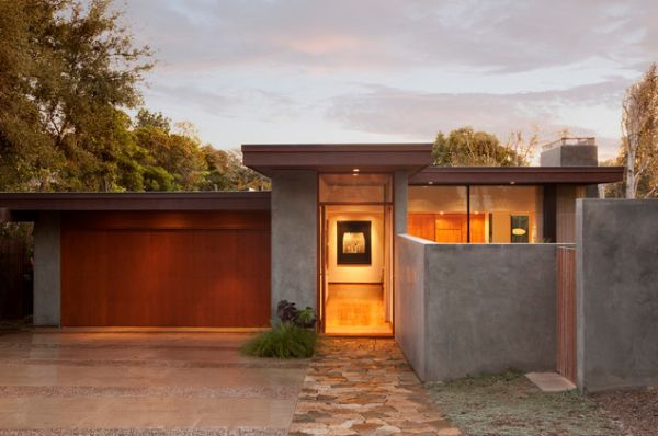 Design Ideas For Flat Roofed Buildings Mid Century Modern