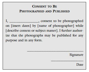The Role Of Permission In Photography  Educational Articles And