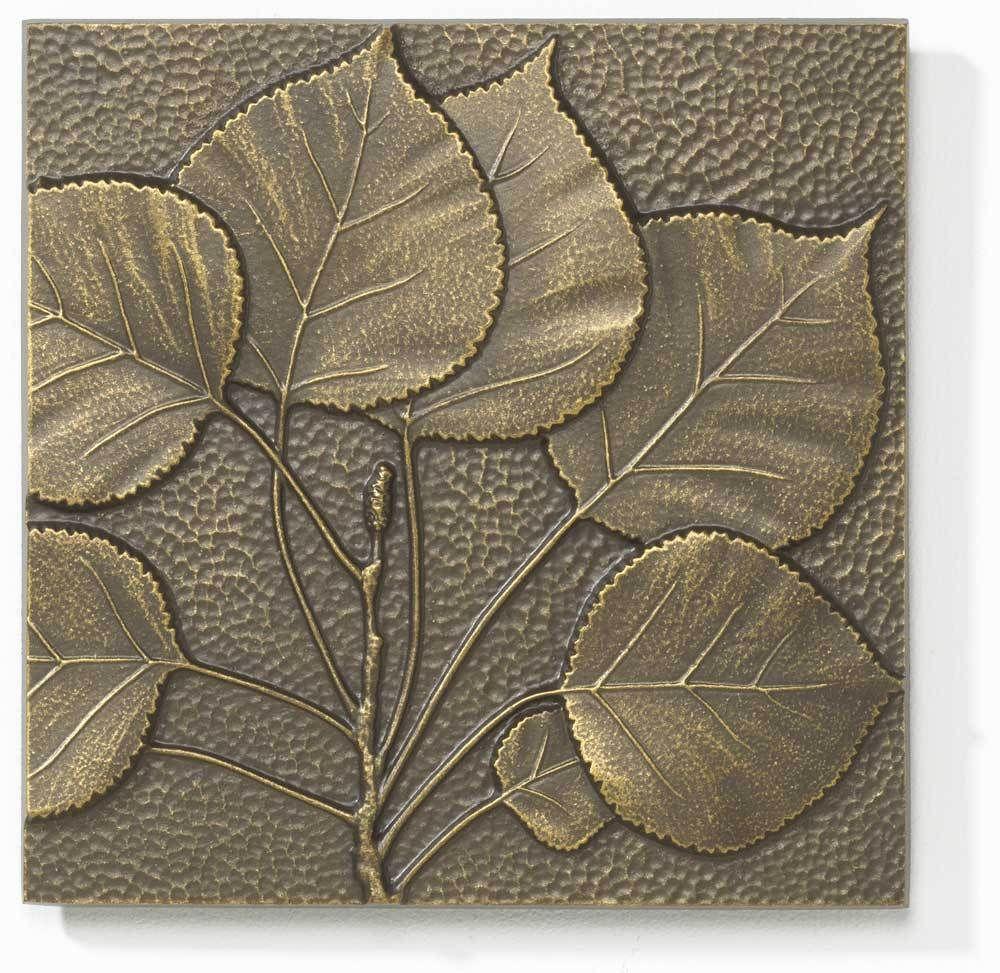 $20 Aspen Leaf French Bronze 8x8