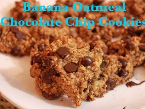 **HEALTHY** Oatmeal chocolate chip cookies