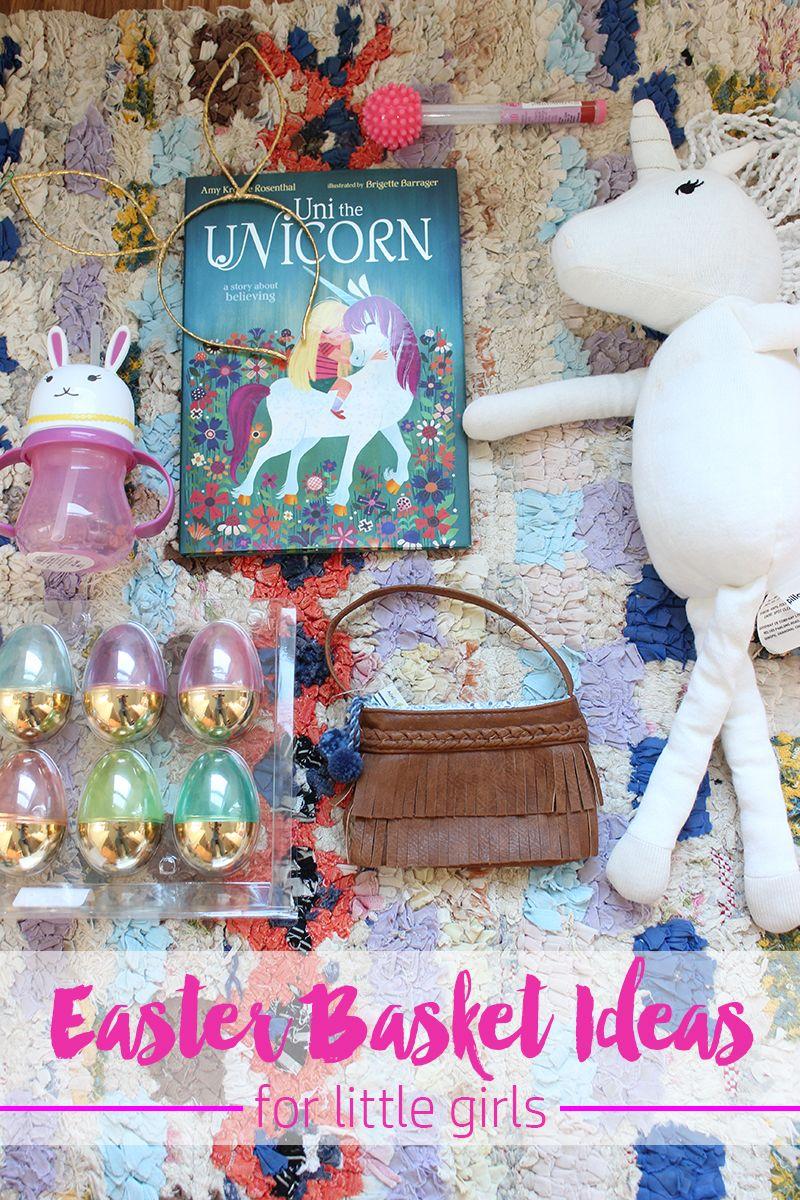 Easter basket ideas for little girls