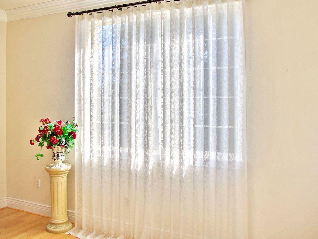 De qu telas son las cortinas finas cortinas pinterest cortinas tela y transparente - Cortinas de bano transparentes ...
