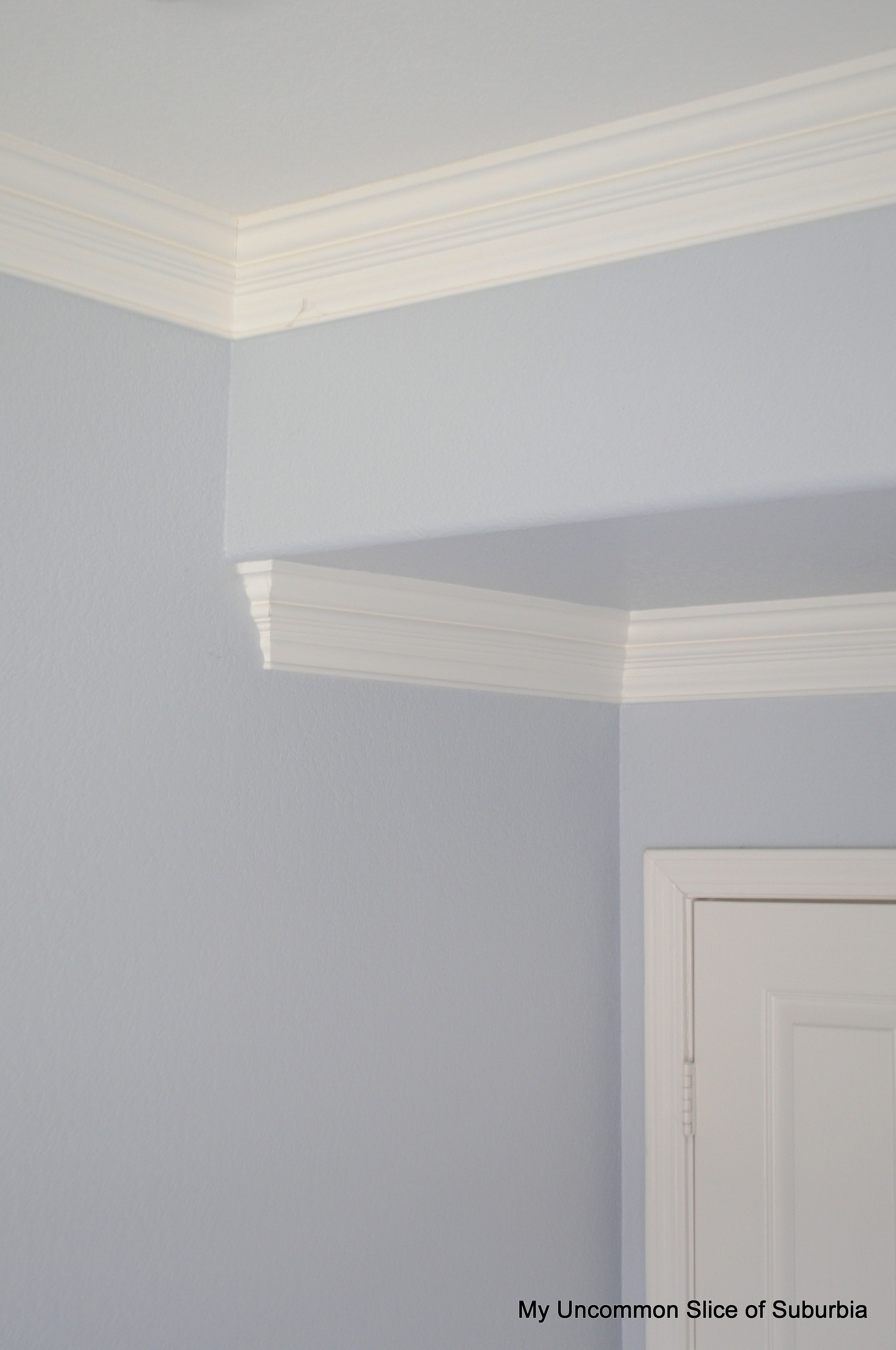 Double Stacked Crown Molding