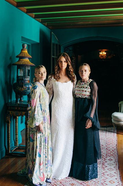 A Complete Look At The Wedding The Olsens Mary Kate Olsen Olsen Twins Style Mary Kate Ashley