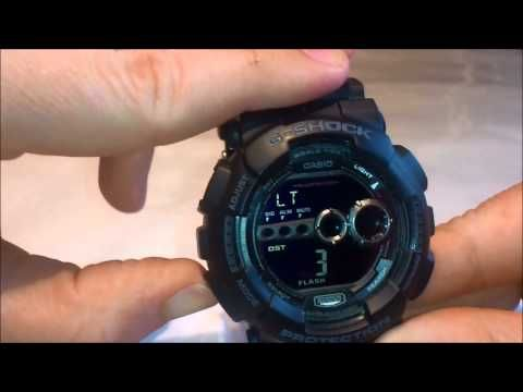 How To Adjust Time On Casio G Shock Ga 110hc Ber Tutorial Casio G Shock Casio G Shock