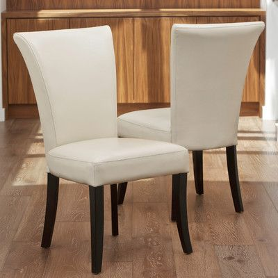 Home Loft Concept Columbia Leather Dining Chairs