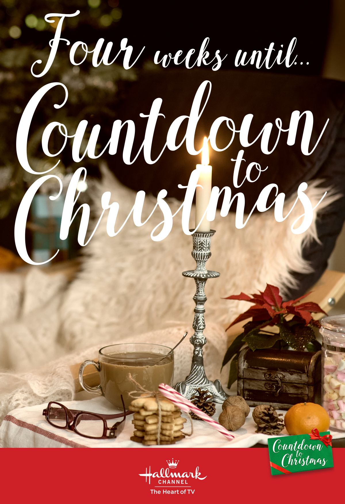 Octiber 26 2020 Countdown To Christmas Schedule Four weeks until Countdown to Christmas! Are you ready for 22 new