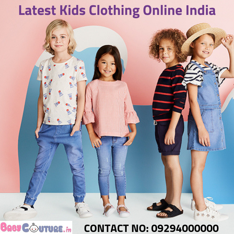 Babycouture Is Known For Providing The Best Kids Clothing Online