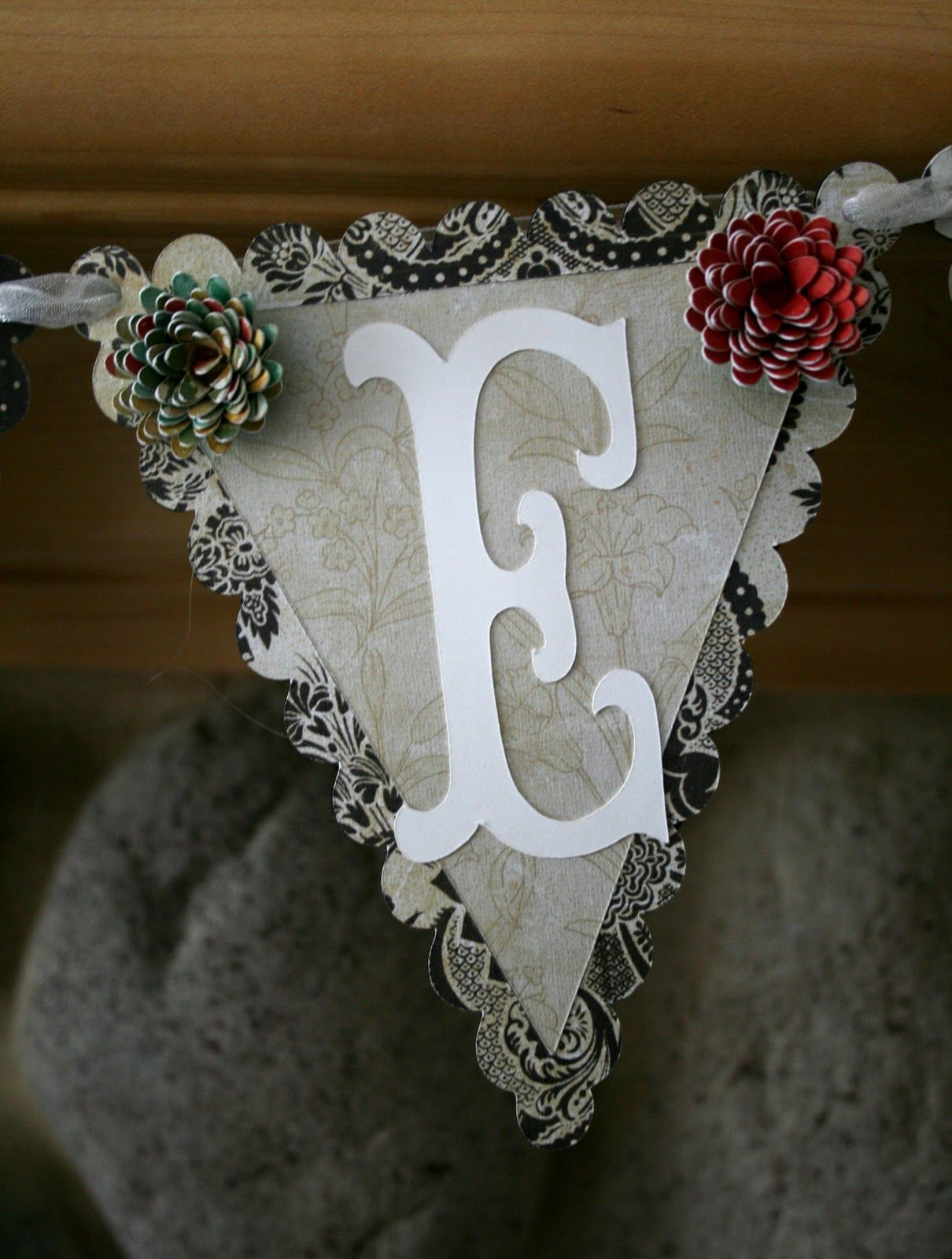 Happily Ever Paper Crafter Bridal Shower Banner with