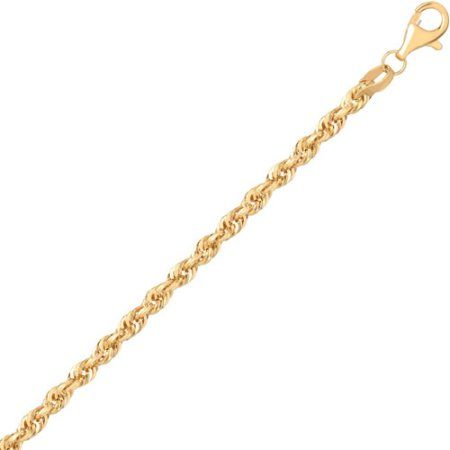 Simple Rope Band 10kt Yellow Gold