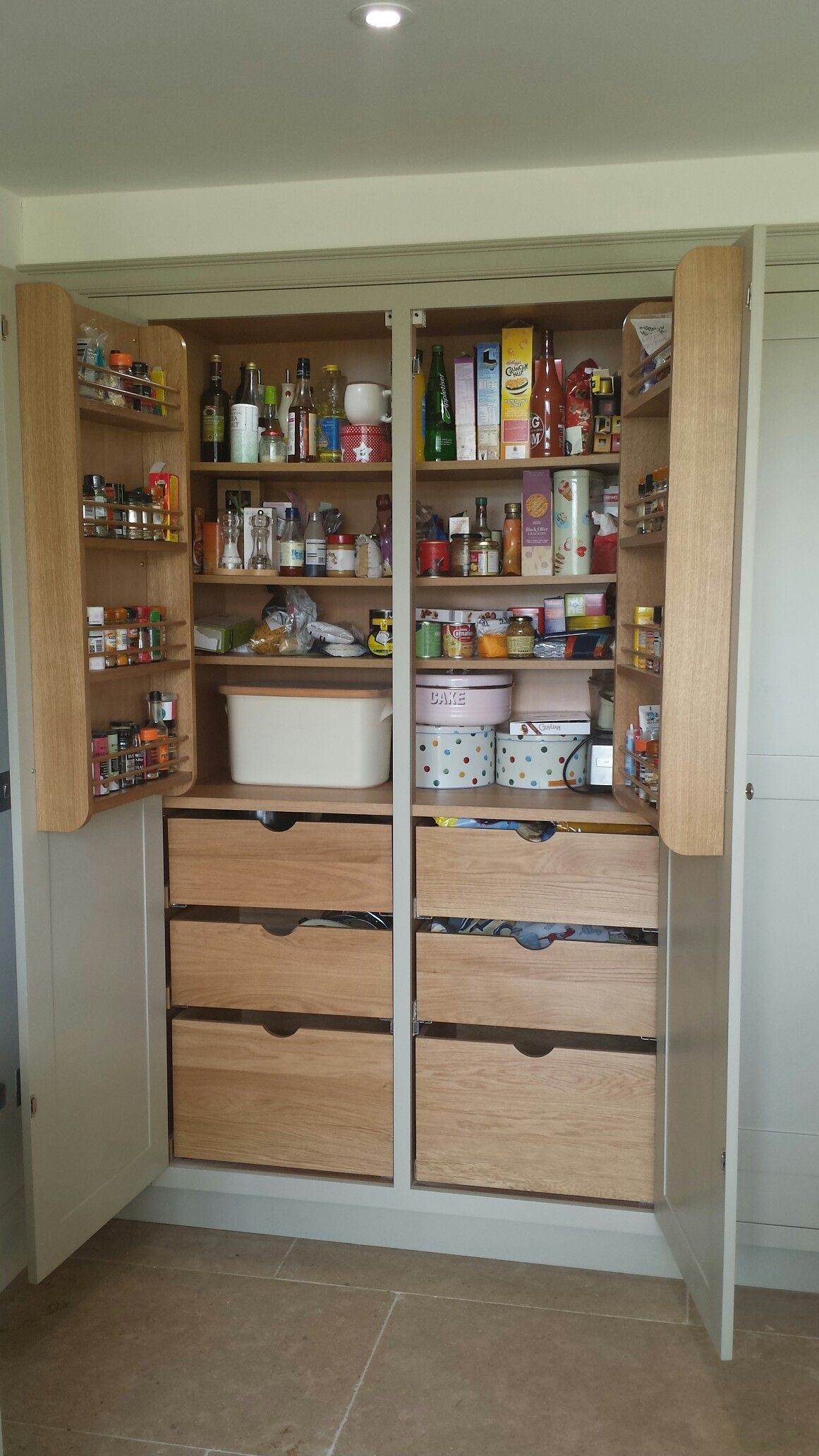 Kitchen Larder Cabinet By Welbourn Furniture Ltd Kitchen Larder Furniture Cabinet