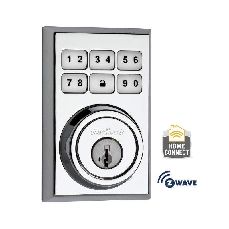 Kwikset 910cnt Zw Products Electronic Deadbolt Door Locks Doors