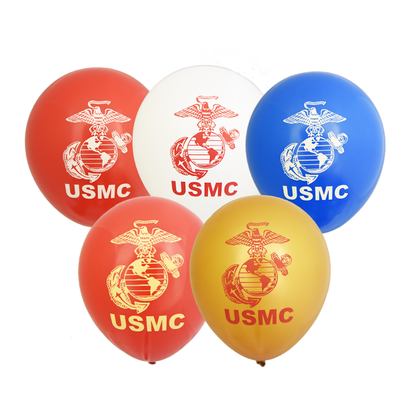 Marine Corps Balloons Set of 10 The Marine Shop in 2020