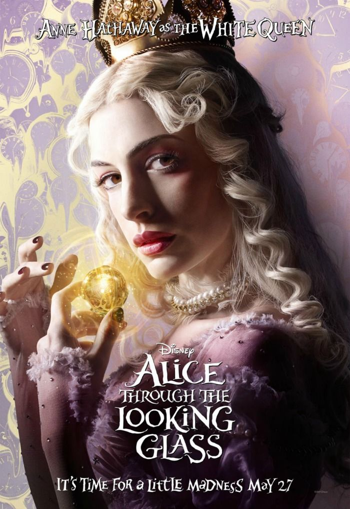 White Queen Cocktail Inspired By Alice Through The Looking Glass