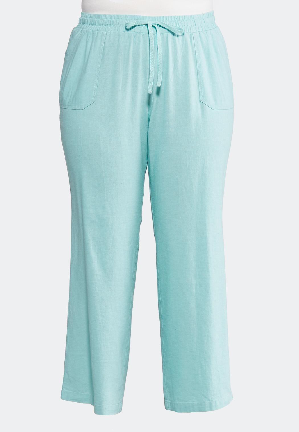 1d1ff2660f Plus Size Drawstring Linen Pants Pants Cato Fashions in 2019 ...