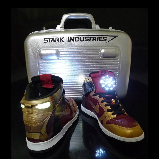Iron man kicks | Nike dunks, Iron man stark, Pictures of shoes