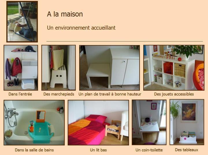 Montessori am nagements assistante maternelle salle de jeux d coration astuces - Amenagement chambre montessori ...