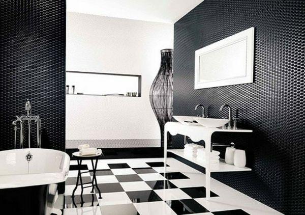 Le carrelage mural de salle de bain