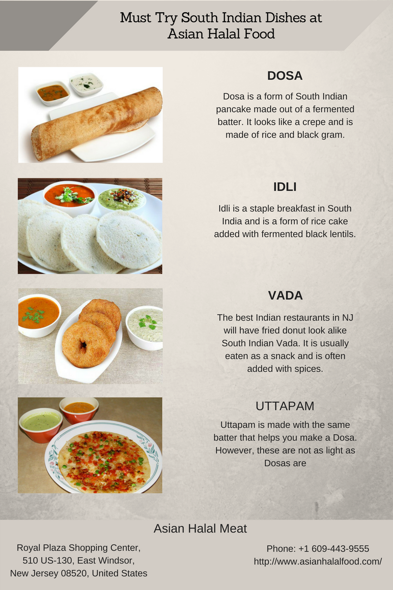 Must Try South Indian Dishes At Asian Halal Food Dosa Idli Vada Uttapam Bestsouthasianfoodinnewjersey Indianfoodd Halal Recipes Indian Dishes Halal
