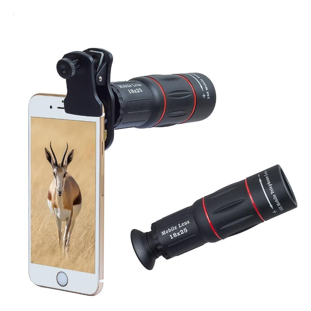iPhone 4 8x telephoto lens with tripod. I don't have an