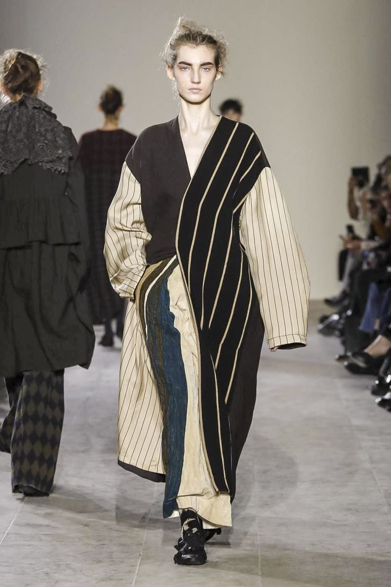 Today marked Uma Wang's first runway show on the official ...