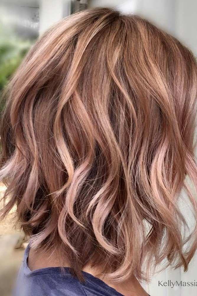 25 Perfect Short Hairstyles For Fine Hair Lovehairstyles Com Gold Brown Hair Hair Styles Hair Lengths